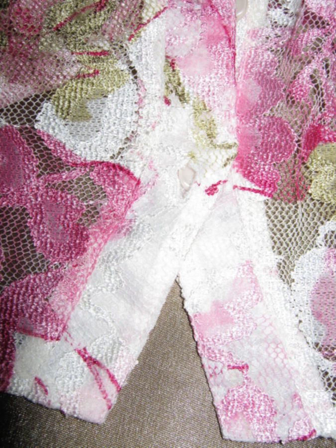 Фото 4 - Эффектная нарядная блузка