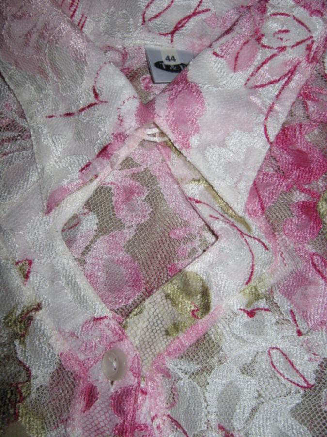Фото 3 - Эффектная нарядная блузка