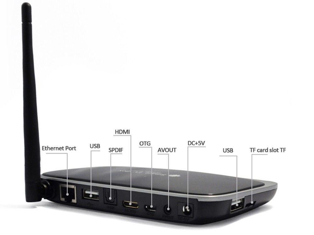 Фото 2 - Смарт тв приставка CS918 Q7 2Г ОЗУ Оригинал Smart TV Quad Core, 2G