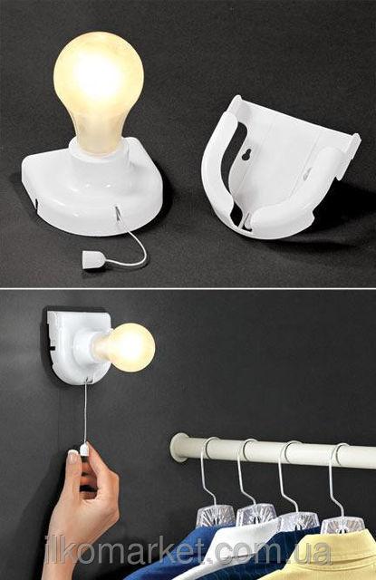 Фото 4 - Светильник - лампа Stick Up Bulb от 4 батареек