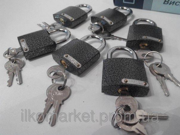 Фото - Замок навесной фирменный APFQS 6 шт. 3 ключа.