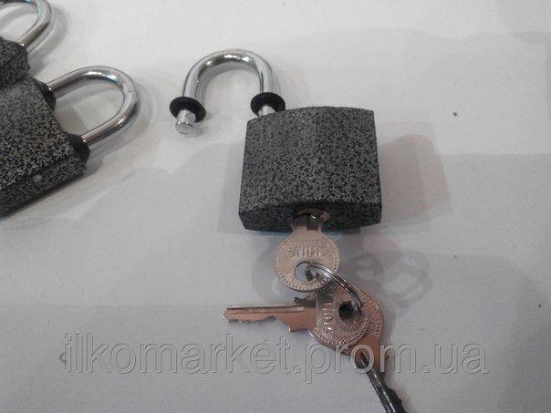 Фото 6 - Замок навесной фирменный APFQS 6 шт. 3 ключа.