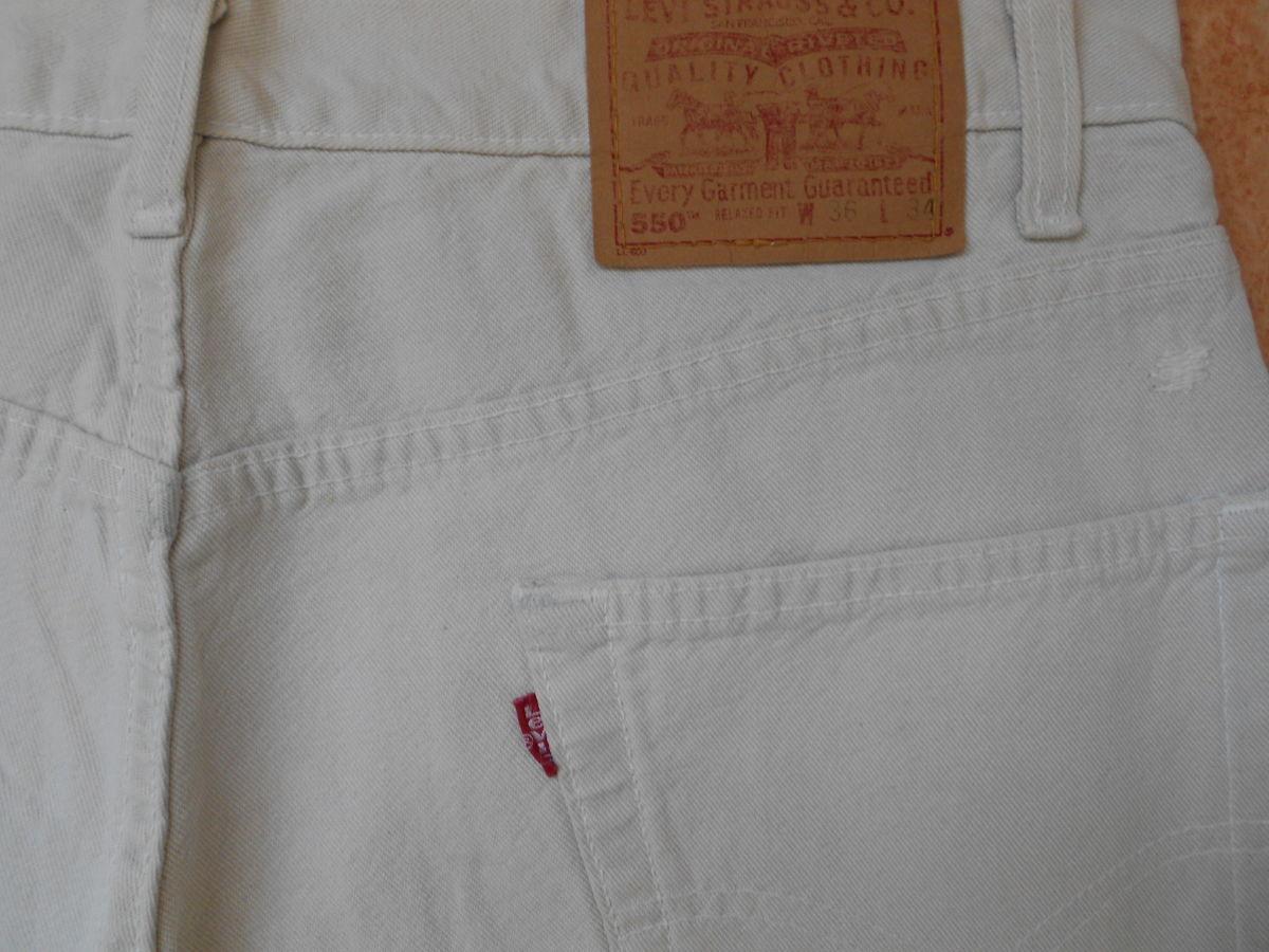 Фото 6 - джинсы Levi's 550 размер 36-32