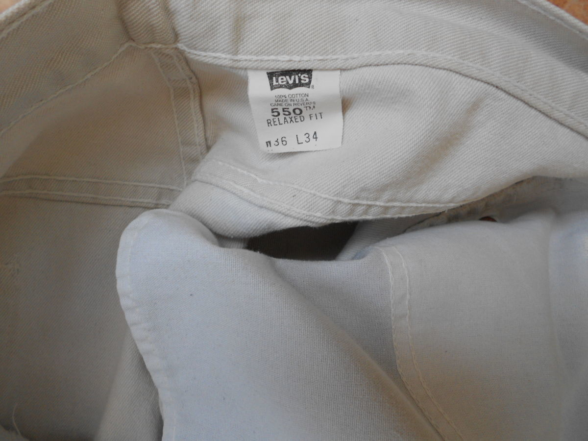 Фото 4 - джинсы Levi's 550 размер 36-32