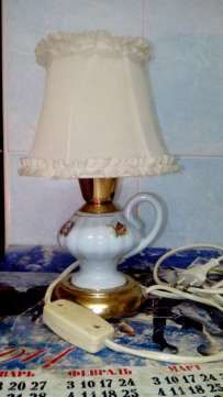 Фото - Лампа настольная, керамическая