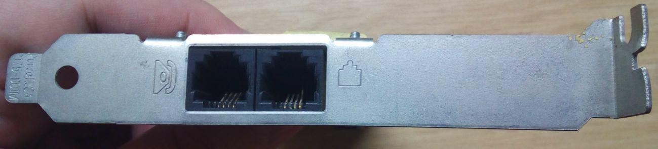 Фото 3 - модем телефонный для компьютера