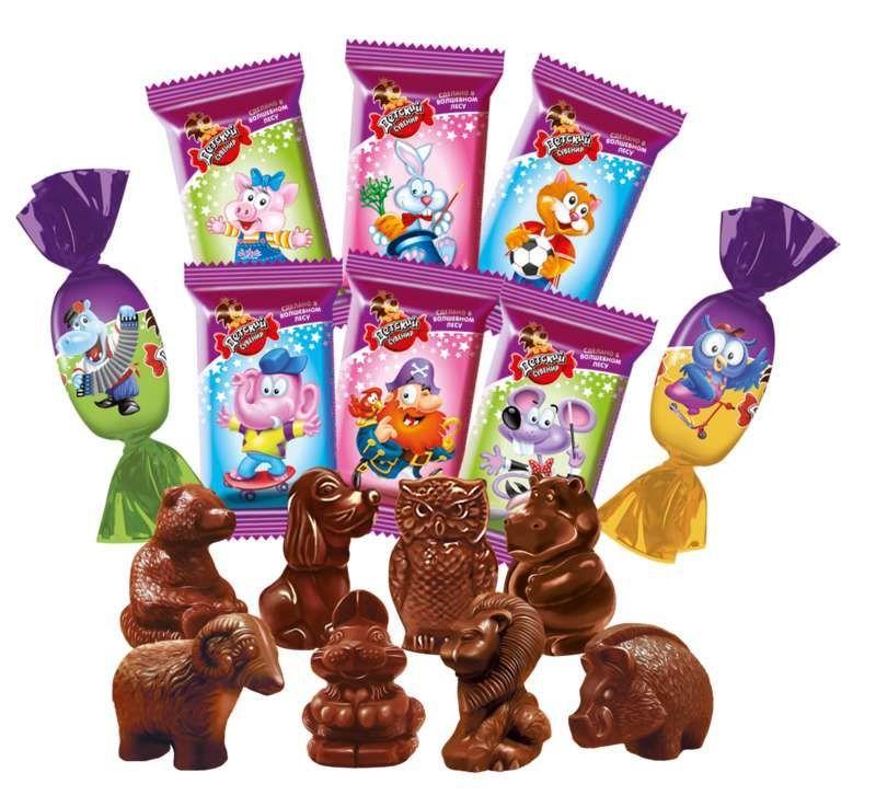 Фото - Шоколадные  конфеты  Детский Сувенир кондитерской фабрики Славянка