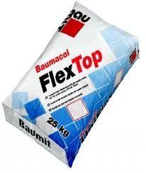 Фото - Baumit FlexTop 25 смесь для приклеивания всех видов плиток