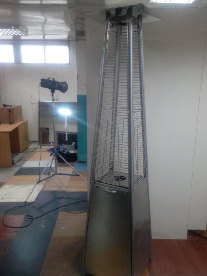Фото - Газовый обогреватель уличный б у в рабочем состоянии