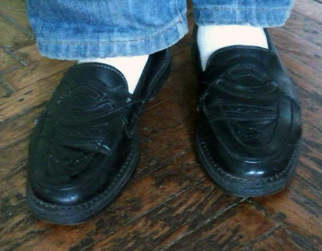 Фото 3 - Кожаные туфли на подроста, 39 р