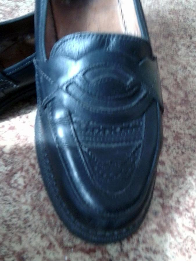 Фото 2 - Кожаные туфли на подроста, 39 р