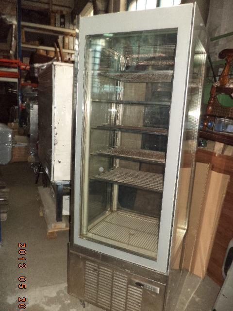 Фото 6 - Витрина для мороженного вертикальн 4 стекла ORION б у в рабоч состоян