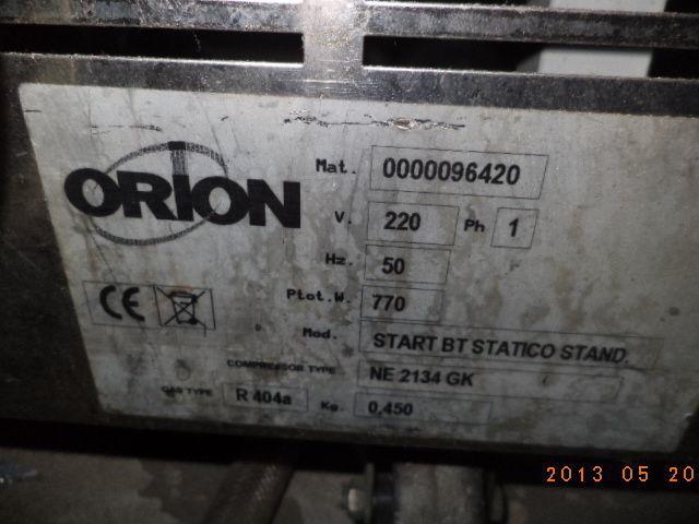 Фото 5 - Витрина для мороженного вертикальн 4 стекла ORION б у в рабоч состоян