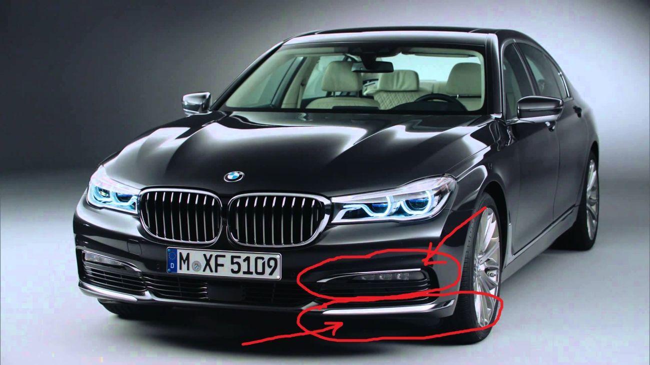 Фото - BMW 740i молдинг 51117362696