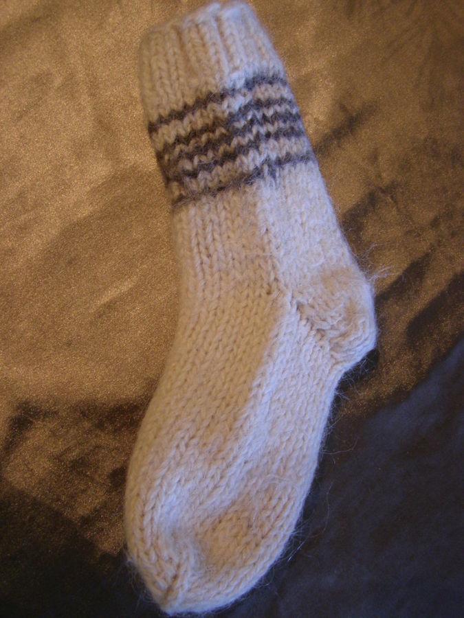 Фото - Теплые шерстяные носки, стелька - 20 см