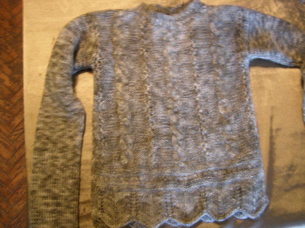 Фото - Теплый шерстяной свитер на девочку