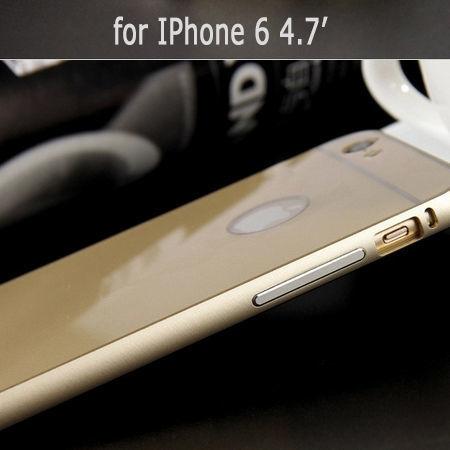 Фото 6 - iPhone 6 бампер чехол алюминий+акрил