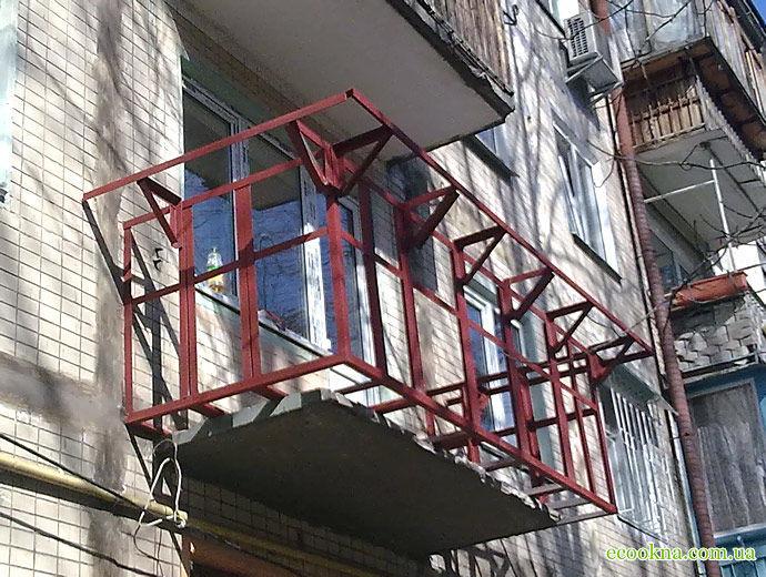Фото 2 - Утепление балконов! Выносы и остекление. Окна и балконы под ключ.Буча
