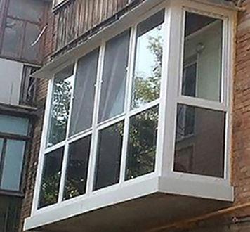 Фото 5 - Утепление балконов! Выносы и остекление. Окна и балконы под ключ.Буча