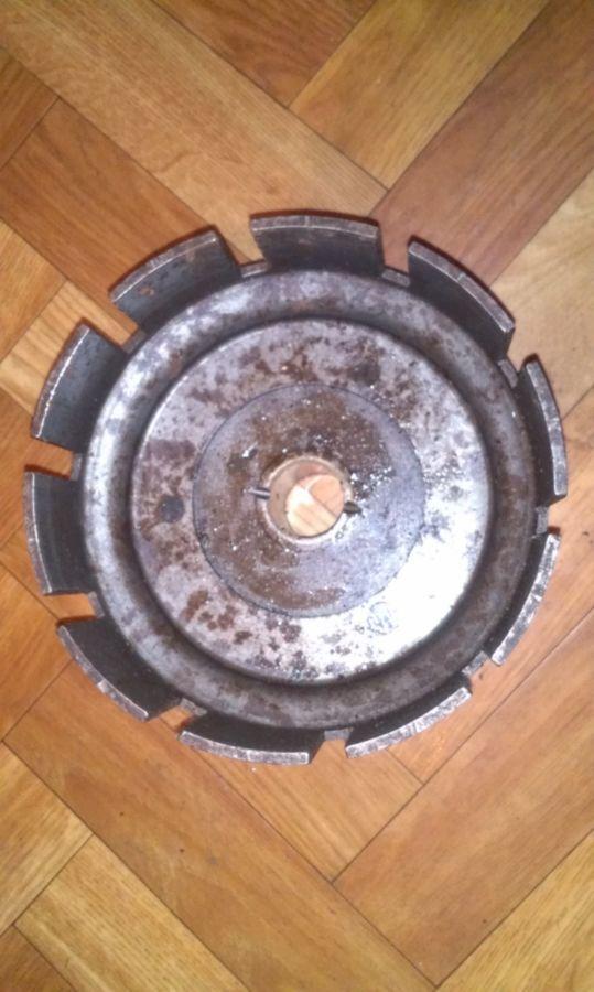 Фото 2 - Корзина сцепления мото ЯВА, 12 вольт